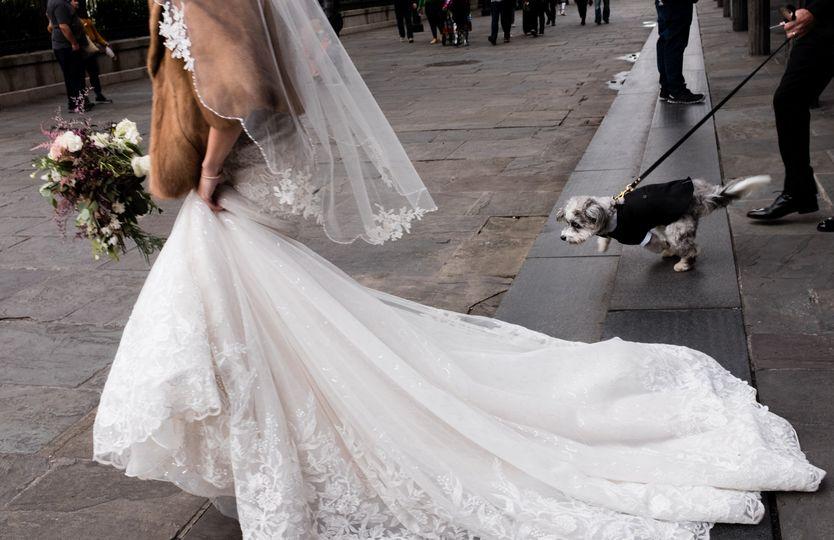 Wedding ceremony, New Orleans