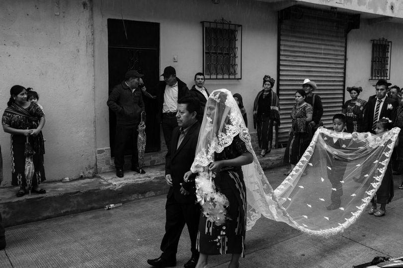 Wedding ceremony in Guatemala