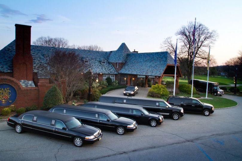 Limos parked out front