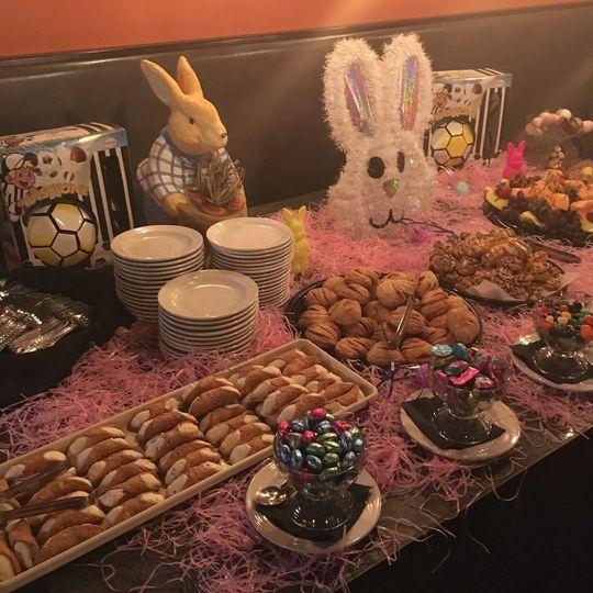 Easter setup