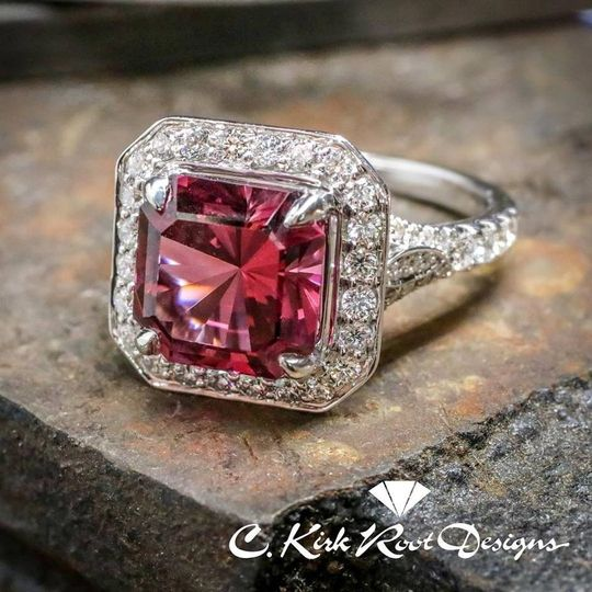 7 62ct spinel ring