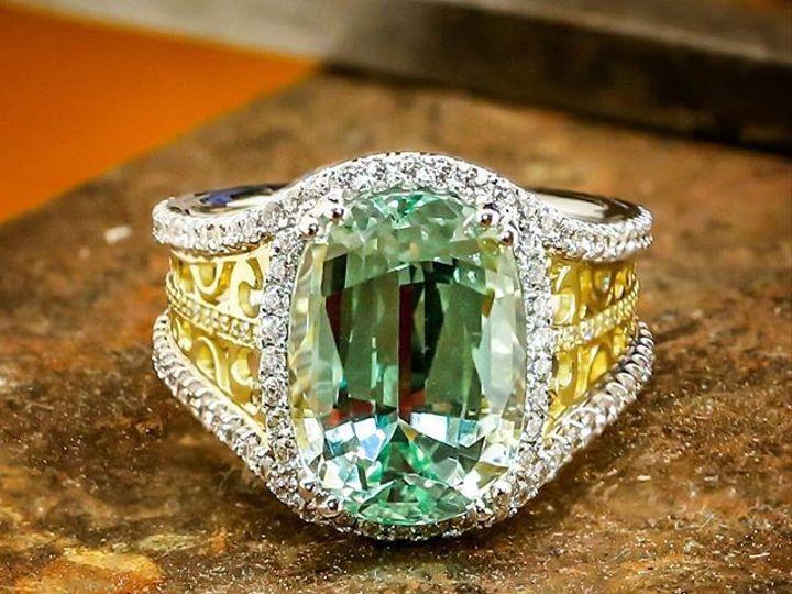 Tmx 1440008410175 8.958ct Natural Tanzanian Vanadium Chrysoberyl Austin wedding jewelry