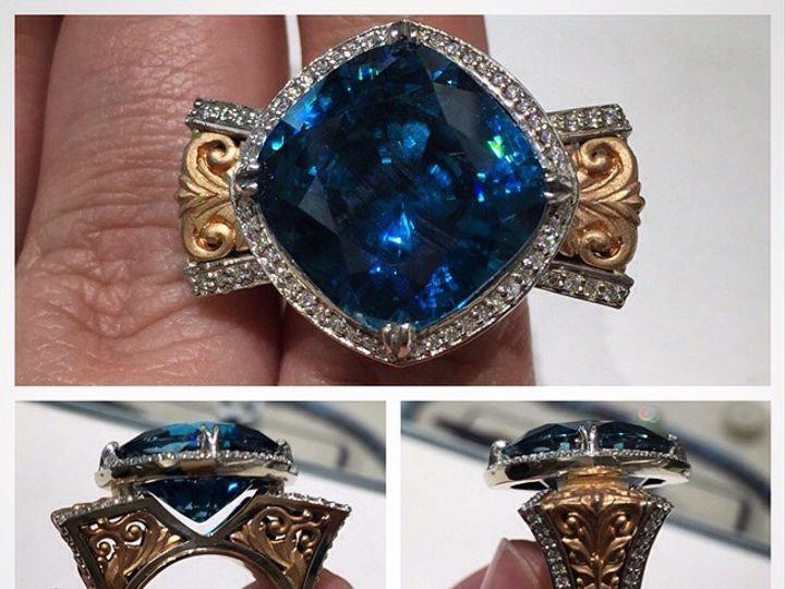 Tmx 1440008460430 Blue Zircon Austin wedding jewelry