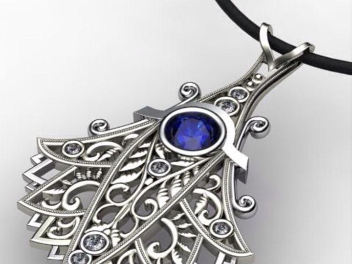 Tmx 1440008483271 Daniel Saph Pendant Austin wedding jewelry