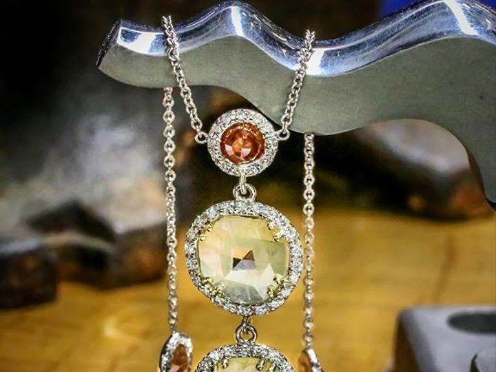 Tmx 1440008492311 Diamond Slice Necklace Austin wedding jewelry