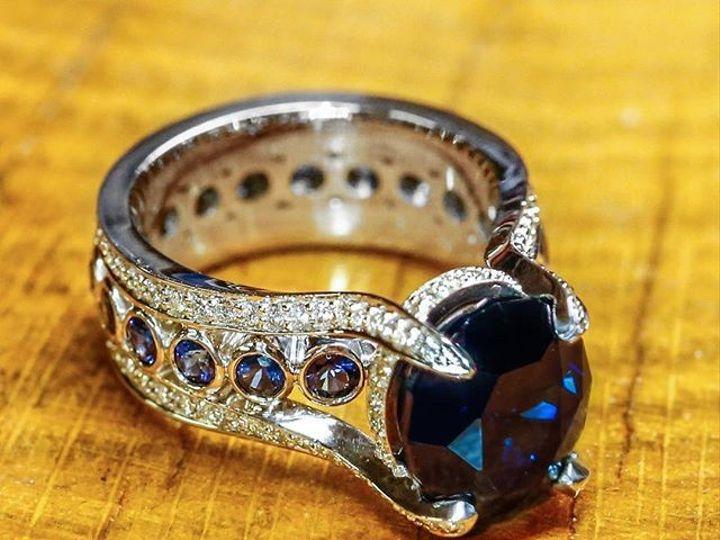 Tmx 1440008538345 Nigerian No Heat Sapphire Austin wedding jewelry