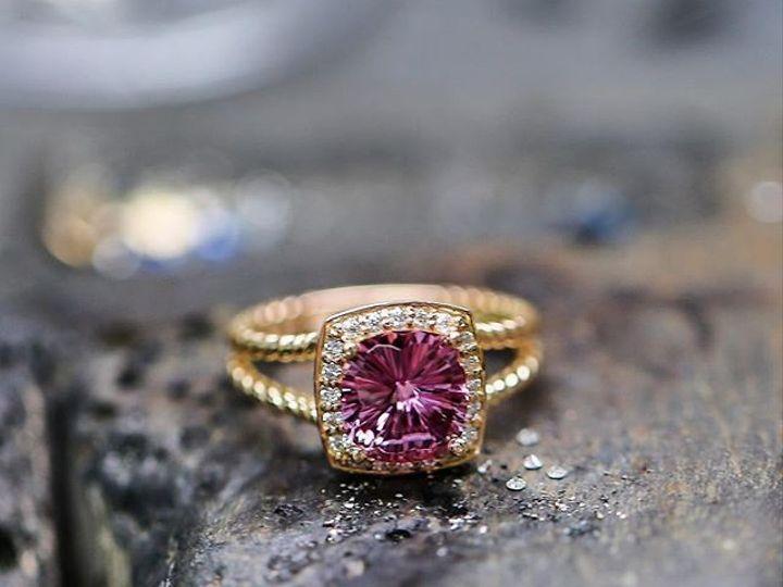 Tmx 1440008580263 Purple Pink Saph Rose Gold Austin wedding jewelry