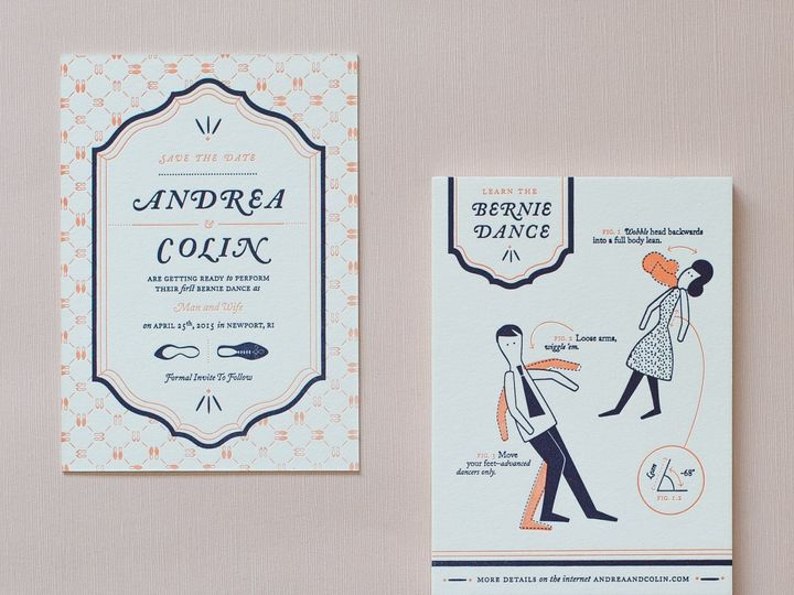 Tmx 1433235976316 My Darlin Classic Collection Wedding Invitations F Brooklyn wedding invitation