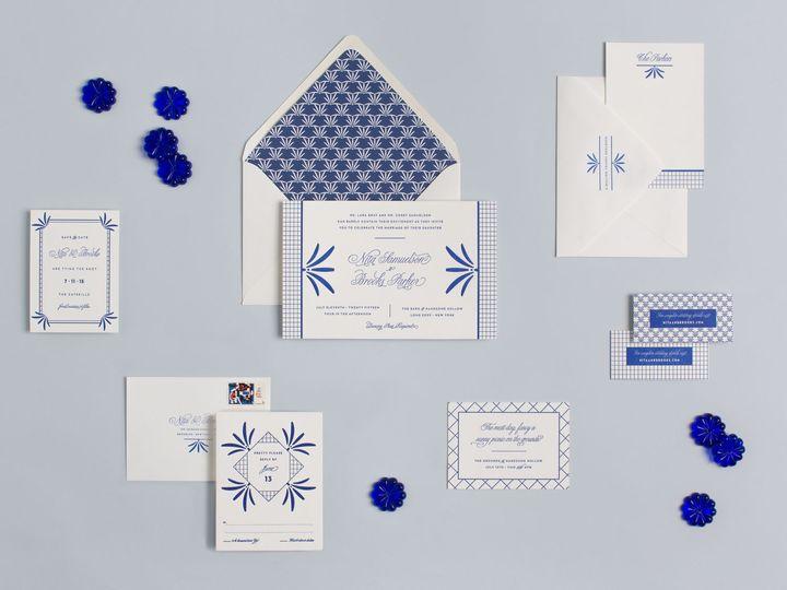 Tmx 1439321337009 My Darlin Classic Collection Nyc Brooklyn Classic  Brooklyn wedding invitation