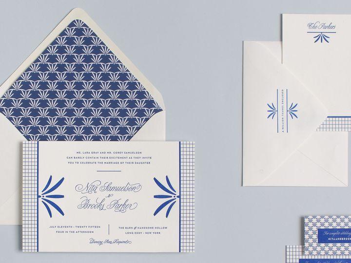 Tmx 1439321348036 My Darlin Classic Collection Nyc Brooklyn Classic  Brooklyn wedding invitation