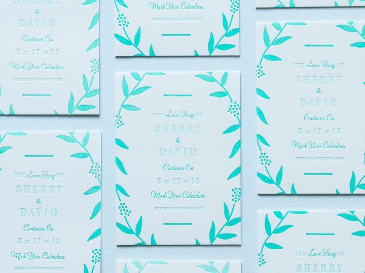 Tmx 1439322451385 My Darlin Classic Collection Nyc Brooklyn Nature W Brooklyn wedding invitation