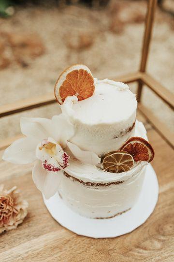 Sugar & Brew Wedding Cake