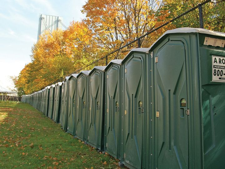 Tmx Green Toilets 51 1026897 V1 Bridgeport, New York wedding rental