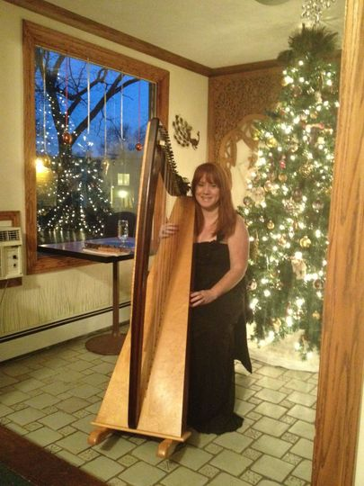 Michele plays in Farmington, MI for a corporate holiday party