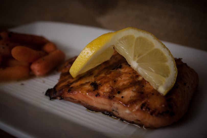 broiled salmo