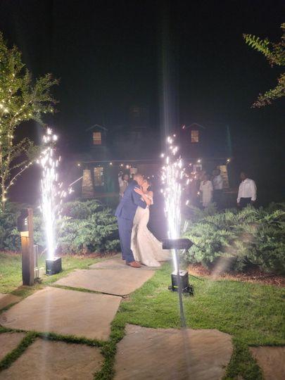 Cold Dry Sparkle Firework