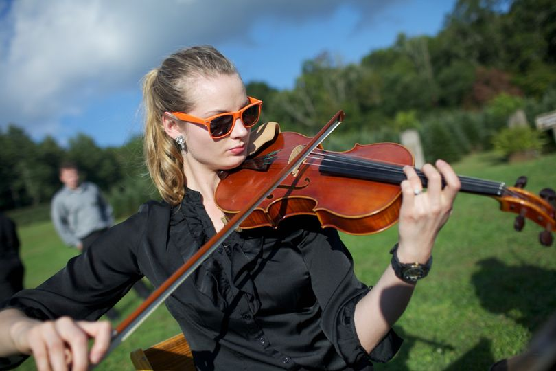 One our fabulous violists