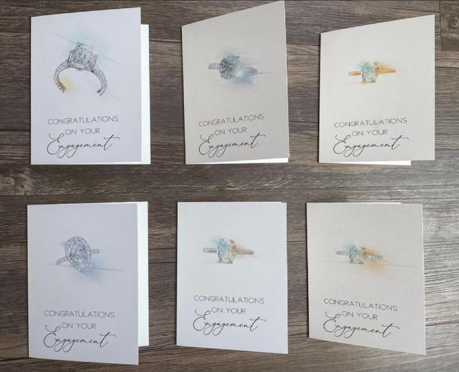 Semi-Custom Ring Cards