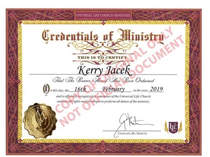 Tmx Ministery 51 1047897 1569200916 Greenfield, IN wedding officiant