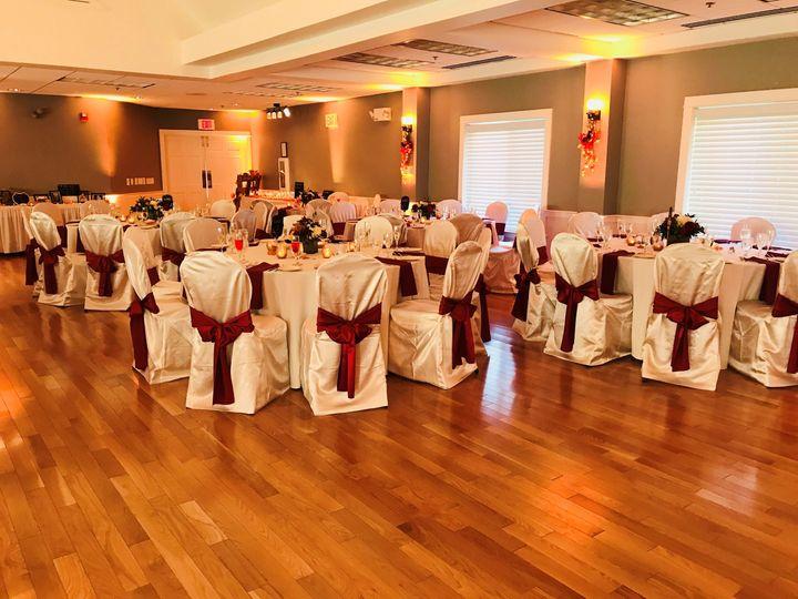 Tmx Burgundy Sashes 2 51 28897 Greenland, NH wedding venue
