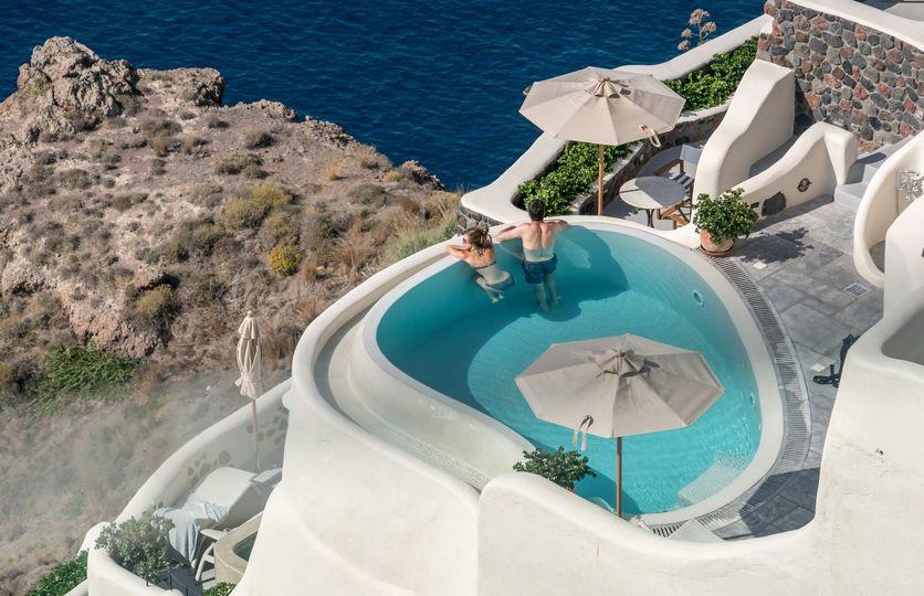 Greek pool