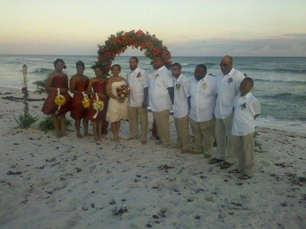 Robinson-Franklin Wedding @ Navarre Beach Florida 05.14.11