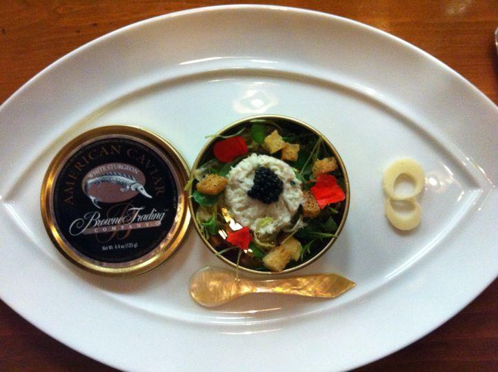 Crab Salad w/ Caviar