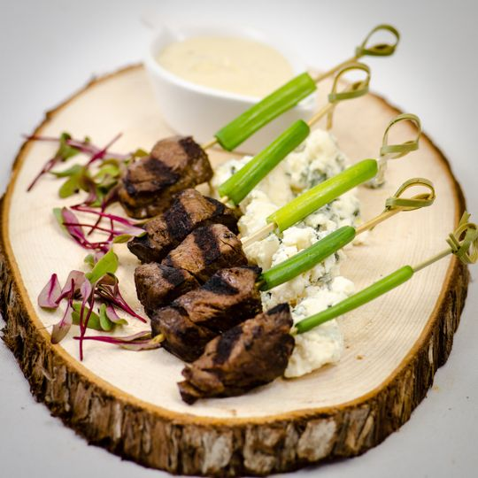 Tenderloin of Beef with Blue Cheese Fondue