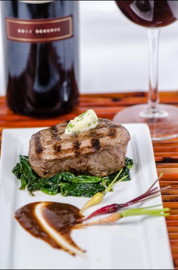 Filet with Herb Butter