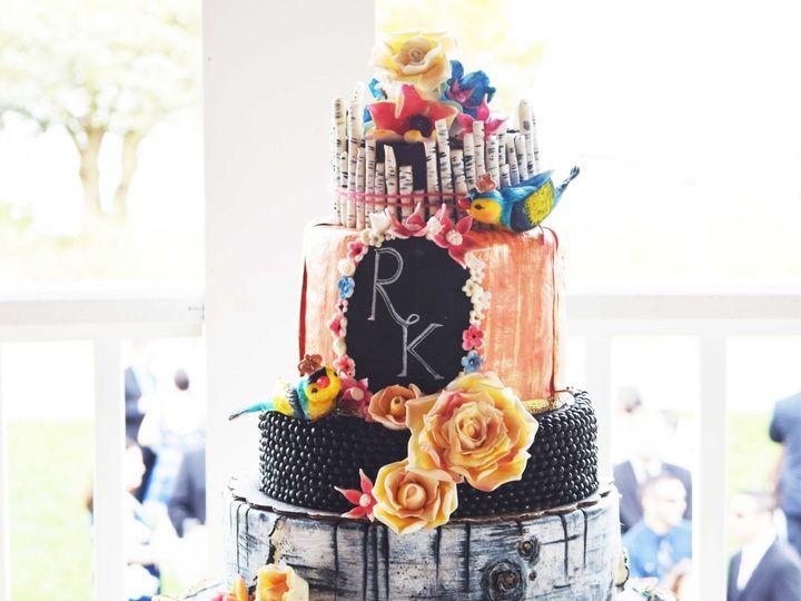 Tmx 1440100563820 Wedding Wire Mansfield wedding cake