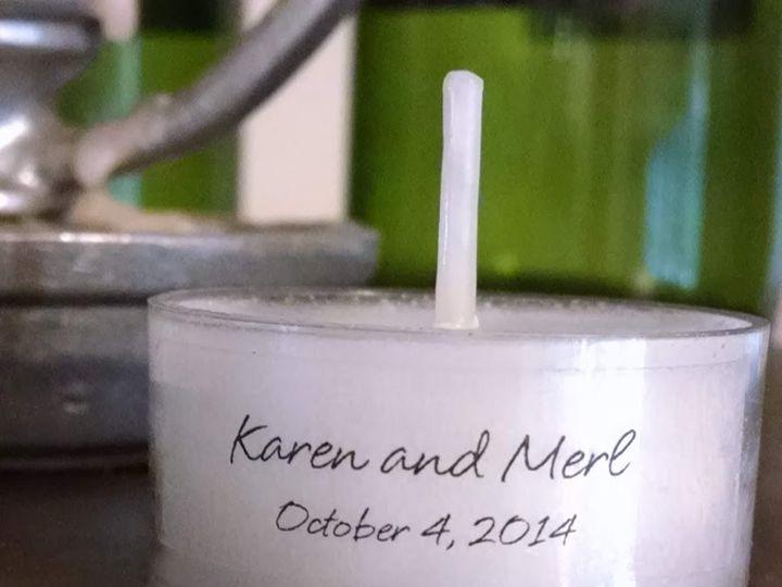 Tmx Personalized Wedding Tealight Karen On Buffet 51 601997 157806331460165 Lake Katrine wedding favor