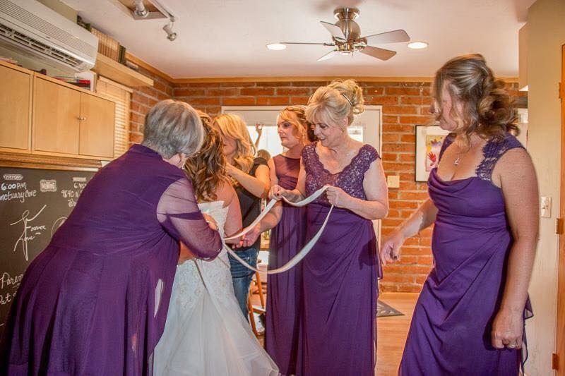 Bridal Prep Parties at teh Cottage