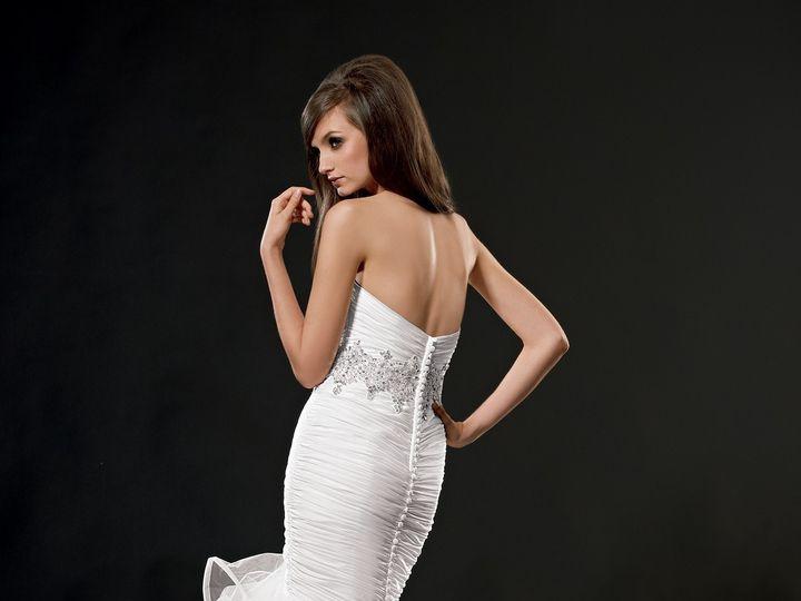 Tmx 1416345124977 9498back Winter Haven wedding dress