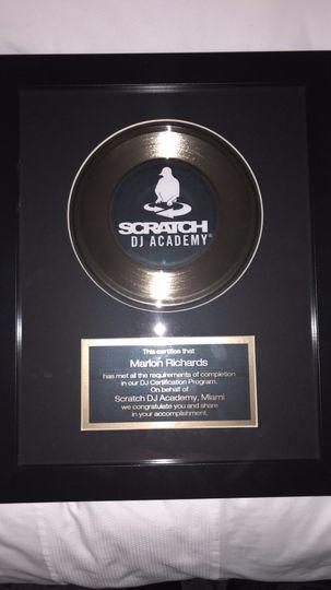 Graduate of Scratch DJ Academy