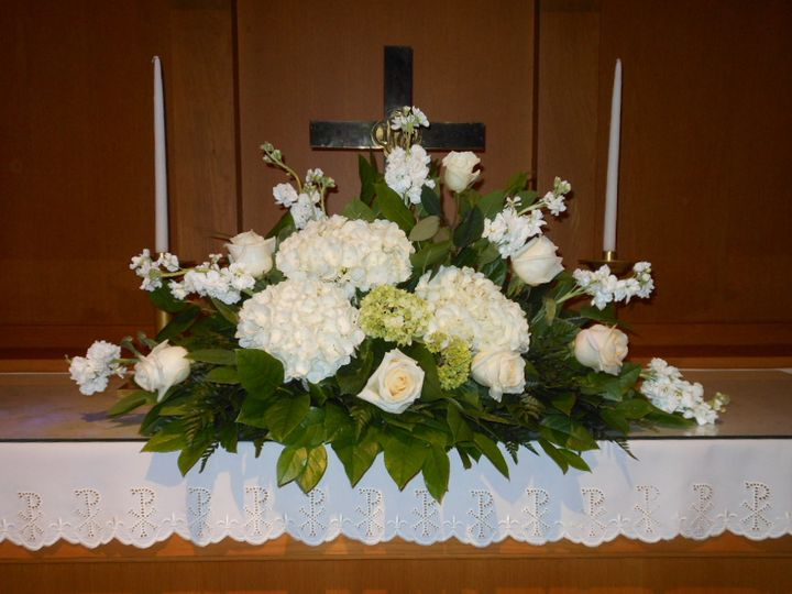 Altar arrangementmsu alumni chapel