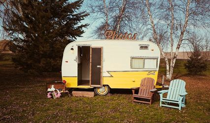 Lemon Drop Photo Booth Camper