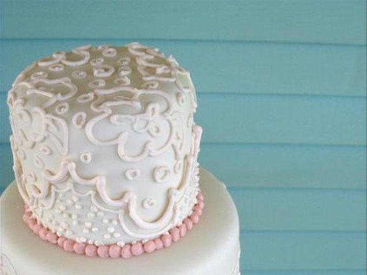 Tmx 1250171098715 LaceWeddingmed Boston wedding cake