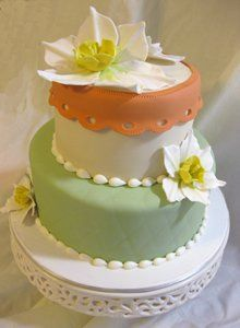 Tmx 1313082461941 Narcissusflowershower Boston wedding cake