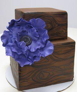 Tmx 1313082470254 PaintedWoodgrainWeddingCake Boston wedding cake