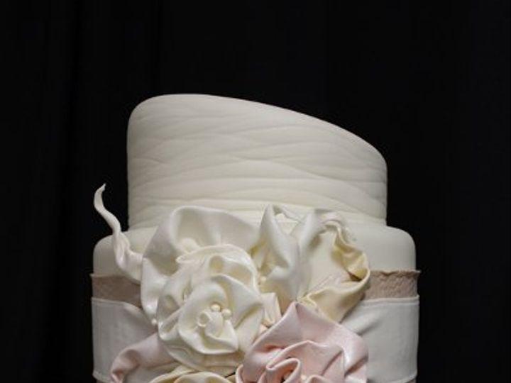 Tmx 1329345647706 CraftyWeddingCakemed Boston wedding cake