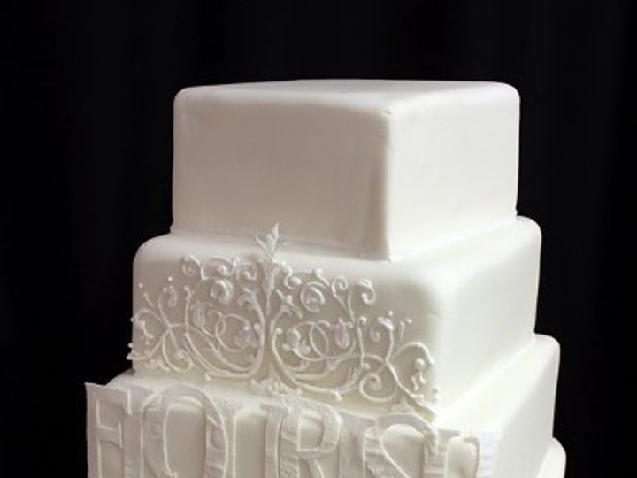Tmx 1329345721543 MassArtPaperCakemed Boston wedding cake