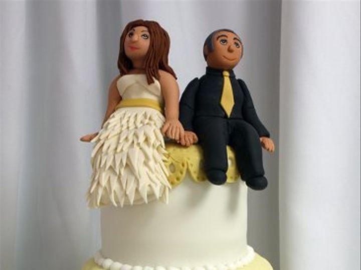 Tmx 1329345729688 PetsWeddingCakemed Boston wedding cake
