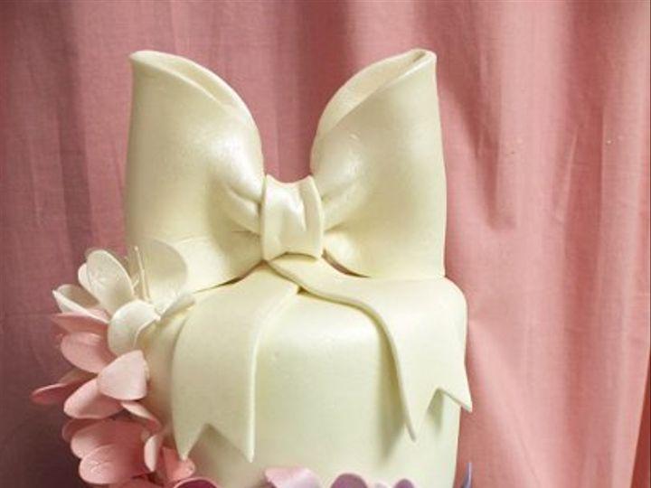 Tmx 1329345742061 Pinkpurpleflowercascadeweddingmed Boston wedding cake