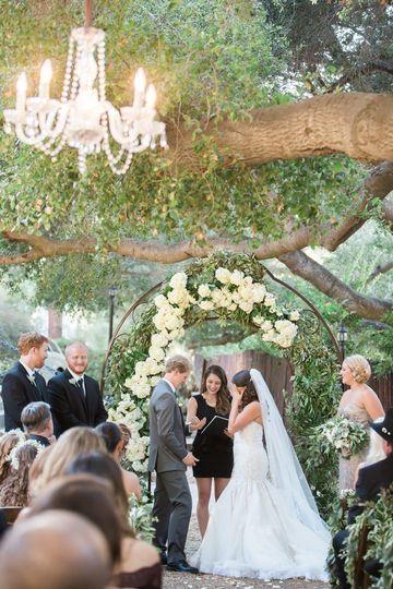 california oak canyon ranch vows