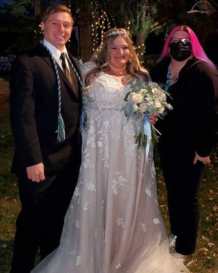 Full Moon wedding