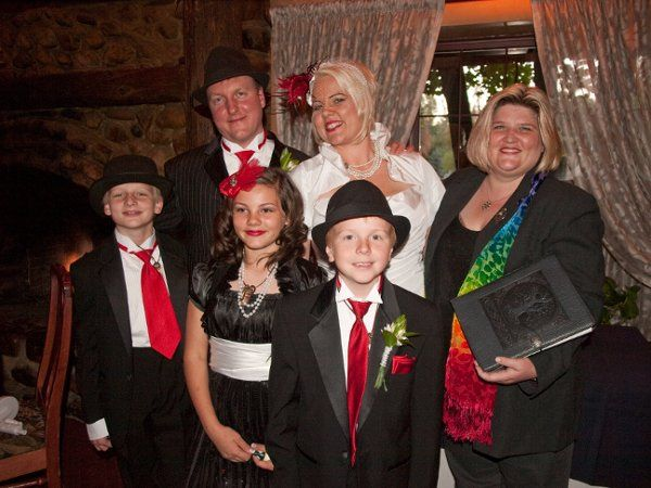 "A ""Roaring 20's"" themed wedding held on 10/10/10."