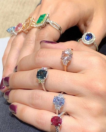 Natural unheated sapphires