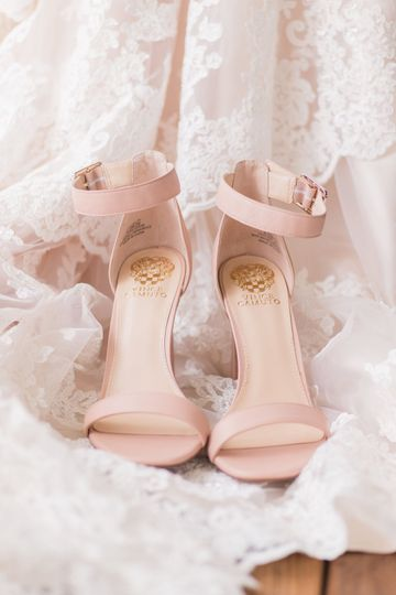 Shoes before the ceremony