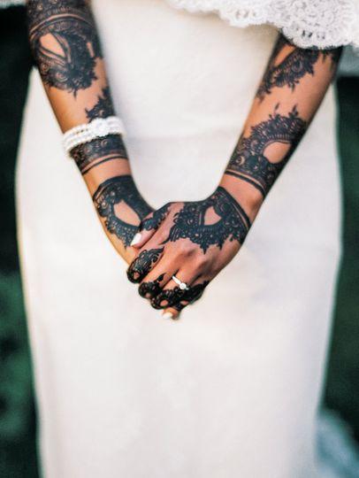 Those henna designs