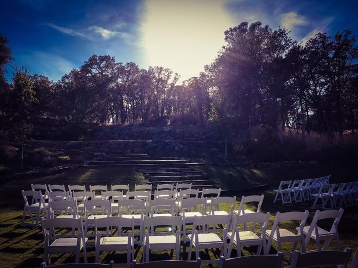 Beautiful day for a wedding.